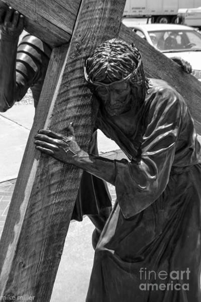 Michael Miller Wall Art - Photograph - Carrying Cross by Michael Miller