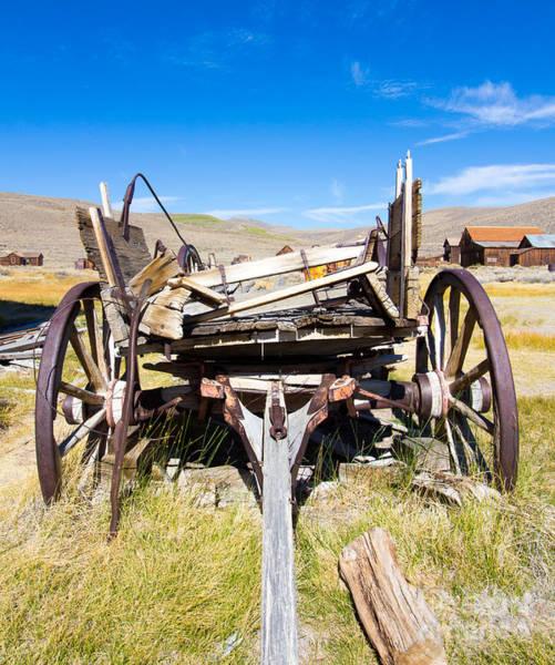 Photograph - Cart by Nicholas Blackwell