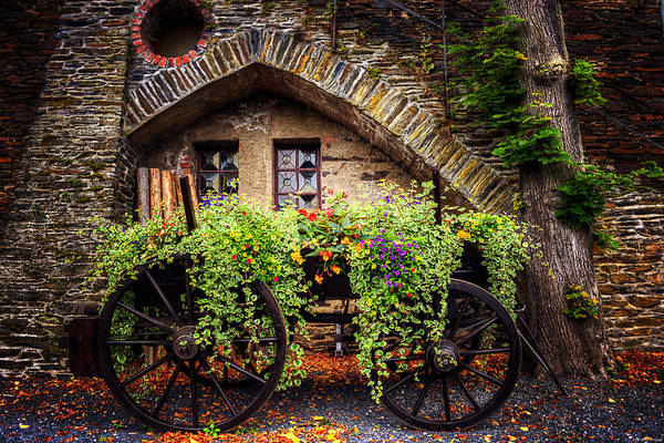 German Photograph - Cart Of Colors by Ryan Wyckoff
