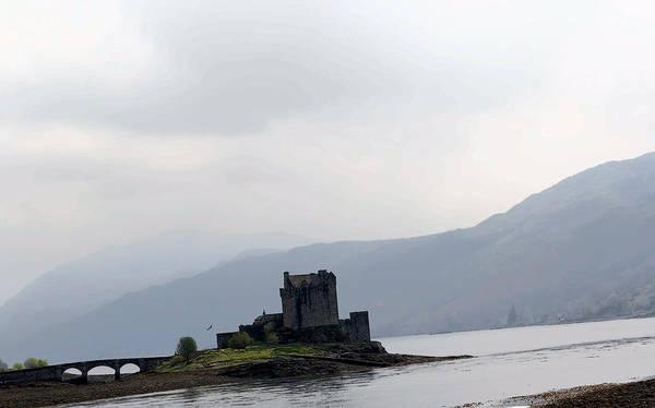 Eilean Donan Castle Digital Art - Cartoon - Eilean Donan Castle And The Bridge Over The Loch by Ashish Agarwal