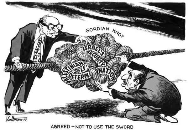 Drawing - Gordian Knot, 1977 by Edmund Valtman