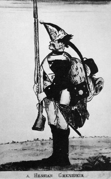 Photograph - Cartoon: Hessian Soldier by Granger