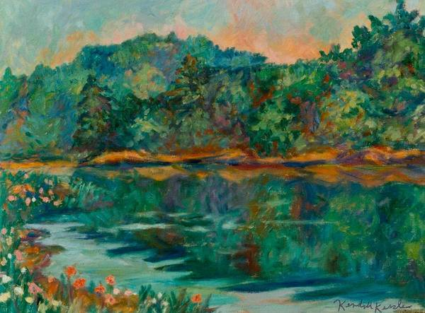 Painting - Carvins Cove by Kendall Kessler