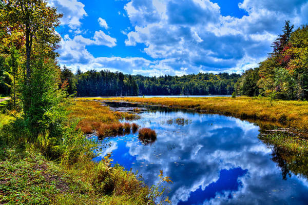 Photograph - Cary Lake Near Old Forge New York by David Patterson