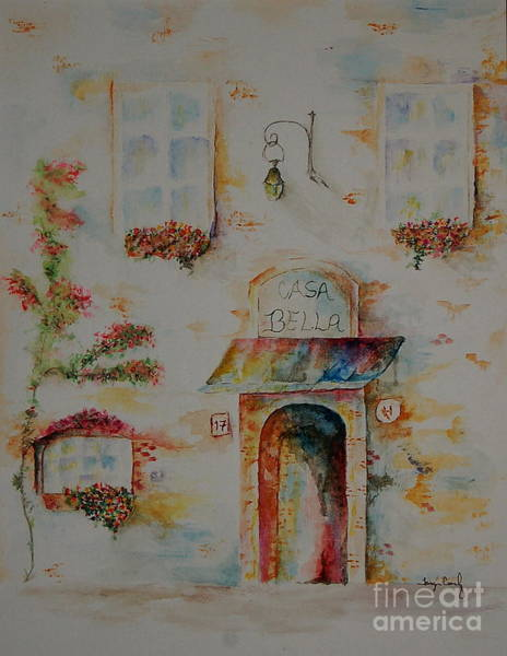 Painting - Casa Bella by Tamyra Crossley