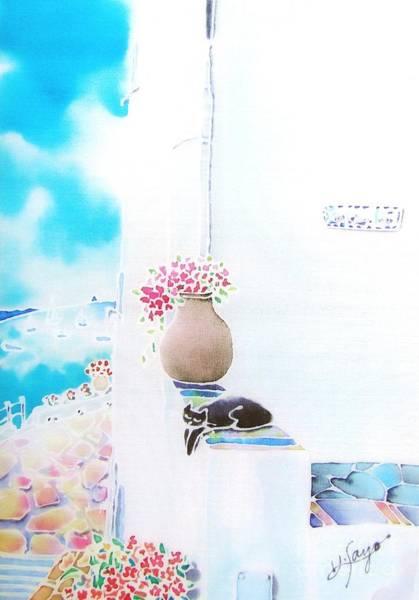 Painting - Casa Blanca by Hisayo Ohta