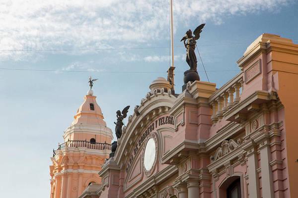 Lima Photograph - Casa De Correos Y Telegrafos , 1897 by Douglas Peebles