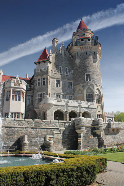 Photograph - Casa Loma Series 04 by Carlos Diaz
