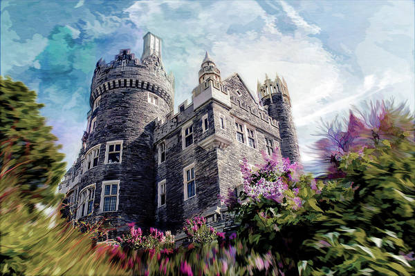 Photograph - Casa Loma Series 08 by Carlos Diaz