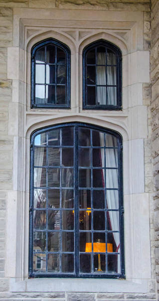 Photograph - Casa Loma Window 1315 by Guy Whiteley