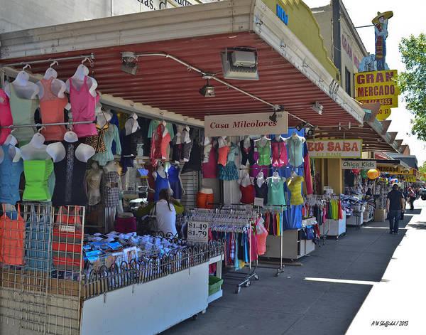 Downtown El Paso Photograph - Casa Milcolores by Allen Sheffield