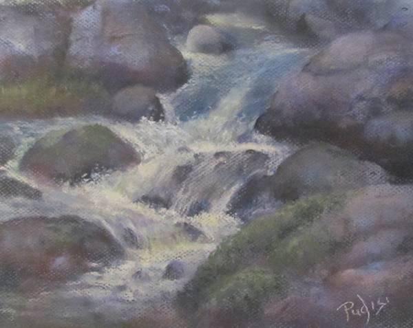 Pastel - Cascade by Bill Puglisi