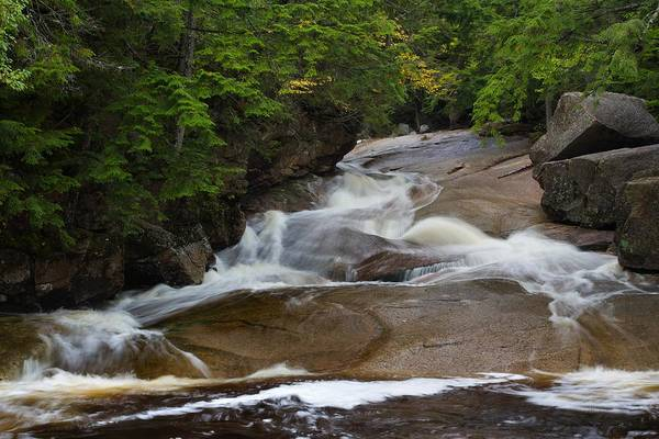 Photograph - Cascade Brook by Mike Farslow