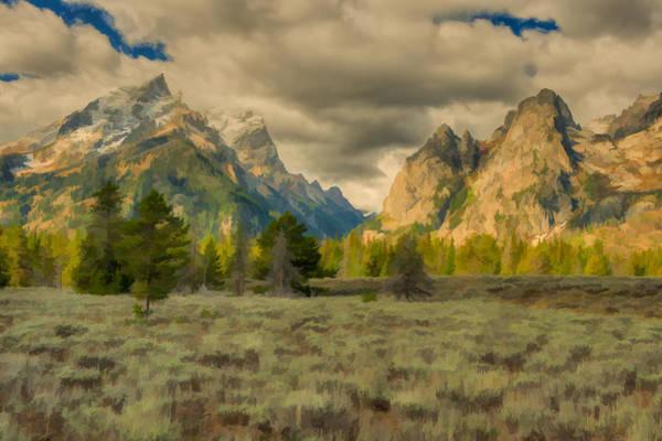 Photograph - Cascade Canyon by Brenda Jacobs