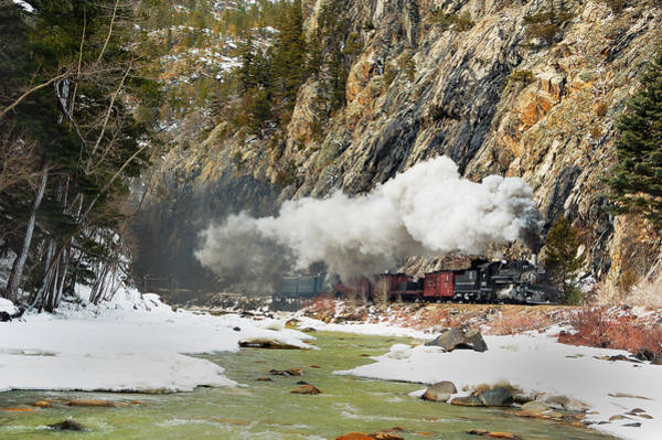 K-28 Photograph - Cascade Canyon Mixed Train by Ken Smith