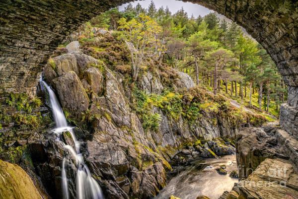 Snowdonia Wall Art - Photograph - Cascade Creek by Adrian Evans