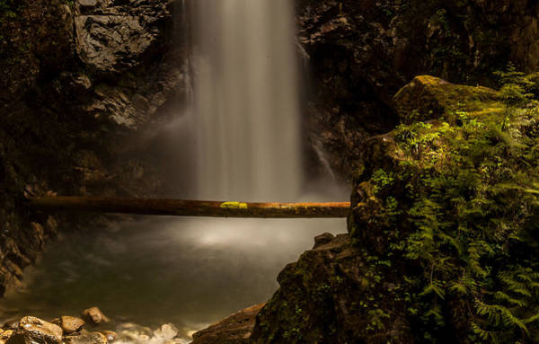Mission Bc Photograph - Cascade Falls 8 by Sabine Edrissi