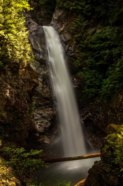 Mission Bc Photograph - Cascade Falls Bc I by Sabine Edrissi