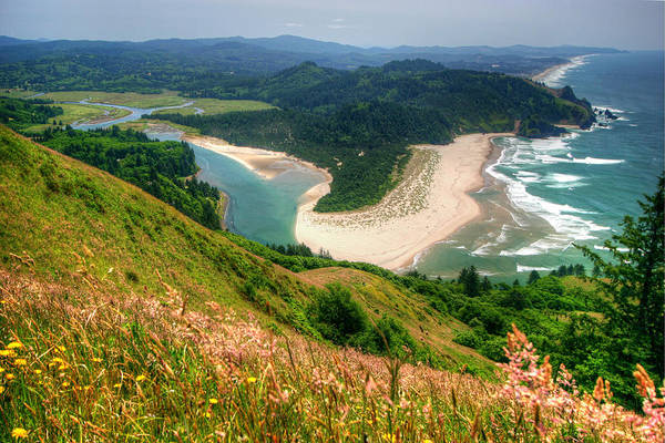 Surf City Usa Photograph - Cascade Head View by Photo ©tan Yilmaz