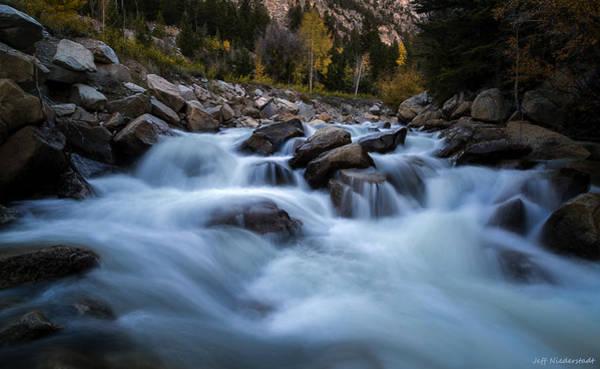 Photograph - Cascade by Jeff Niederstadt
