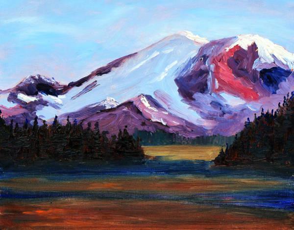 Wall Art - Painting - Cascade Light by Nancy Merkle