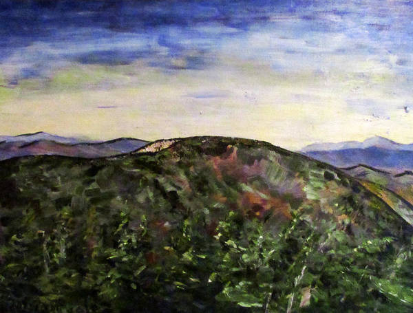 Adirondack Mountains Painting - Cascade Mountain by Denny Morreale