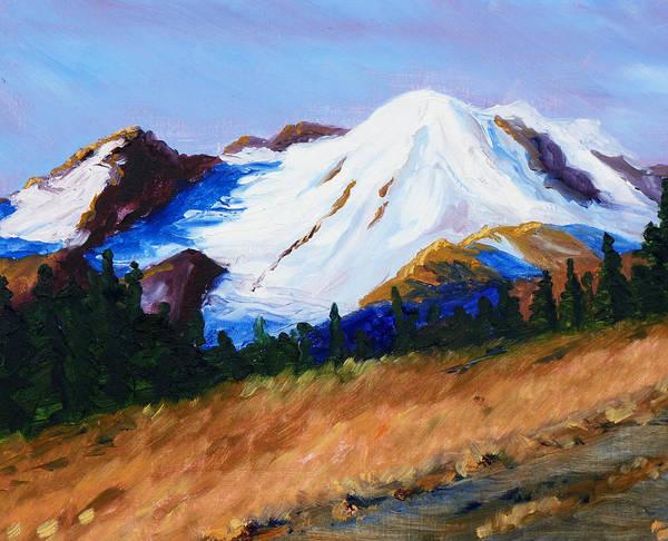 Prairie Painting - Cascade by Nancy Merkle
