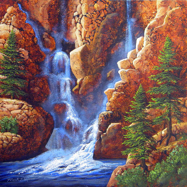 Painting - Cascade Springs by Frank Wilson