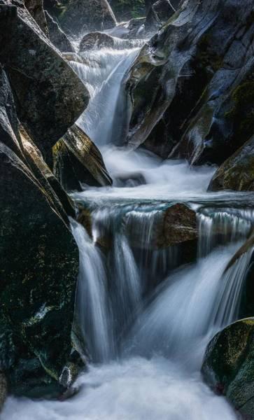 Photograph - Cascades by Gene Garnace