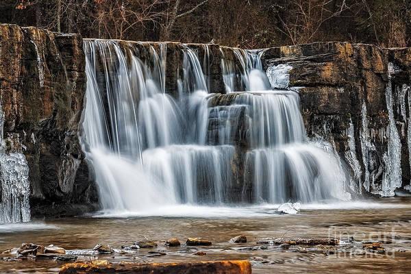 Photograph - Cascades by Larry McMahon