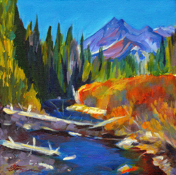 Painting - Cascades by Tanya Filichkin