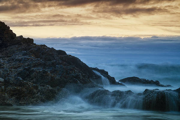 Wall Art - Photograph - Cascading Waves by Andrew Soundarajan
