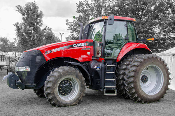Photograph - Case Ih Magnum 235 by Guy Whiteley