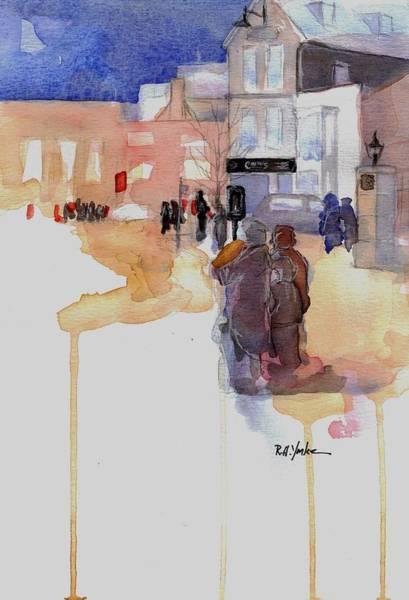 Corner Painting - Casey's Corner In Killarney by Robert Yonke