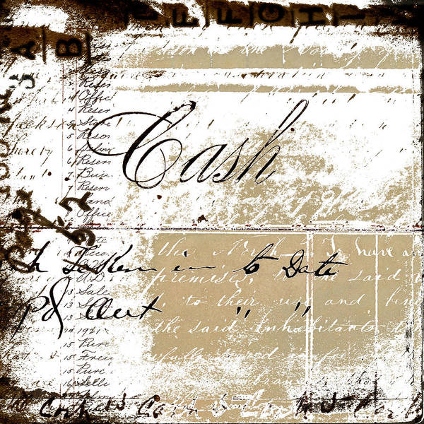Wall Art -  - Cash by Carol Leigh