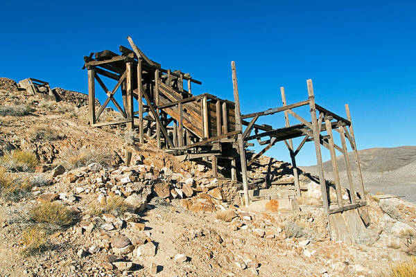 Photograph - Cashier Mill Death Valley National Park by Fred Stearns
