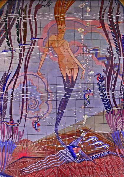 Wall Art - Photograph - Casino Mermaid by Juan Rodriguez