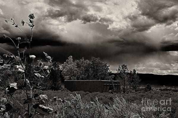 Photograph - Casita In A Storm by Charles Muhle