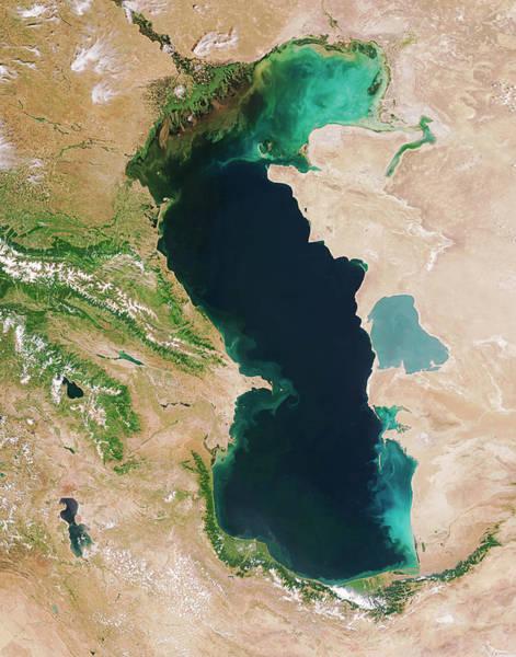 Caspian Sea Art Print