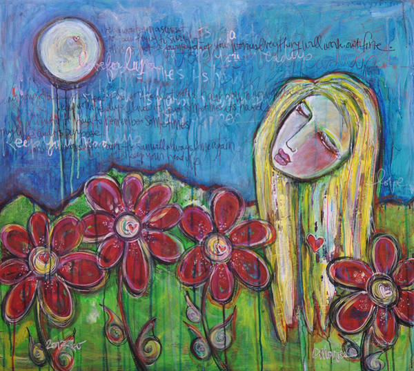 Painting - Cassie's Painting by Laurie Maves ART