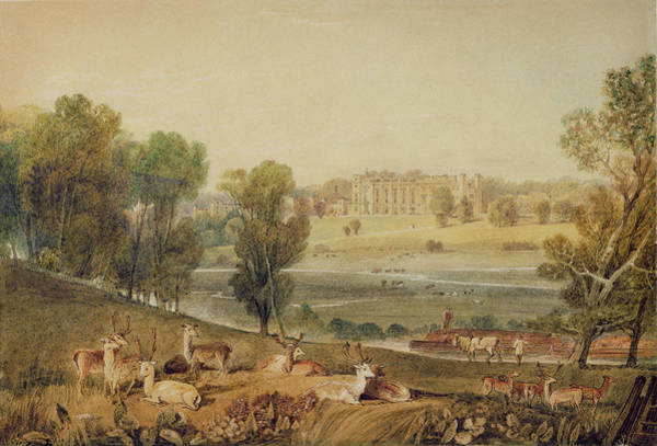 J. M. W. Turner Painting - Cassiobury Park, Hertfordshire by William Havell