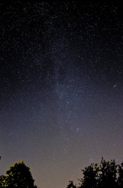 Photograph - Cassiopeia And Andromeda Galaxy 01 by Greg Reed