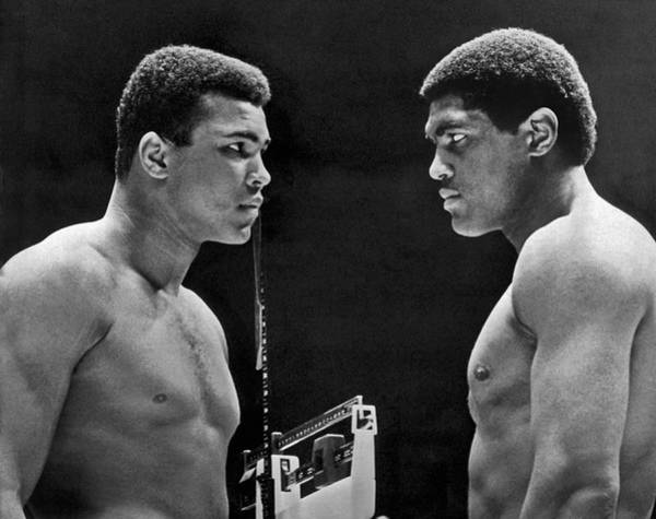 1967 Photograph - Cassius Clay Gives Whammy Eye by Underwood Archives