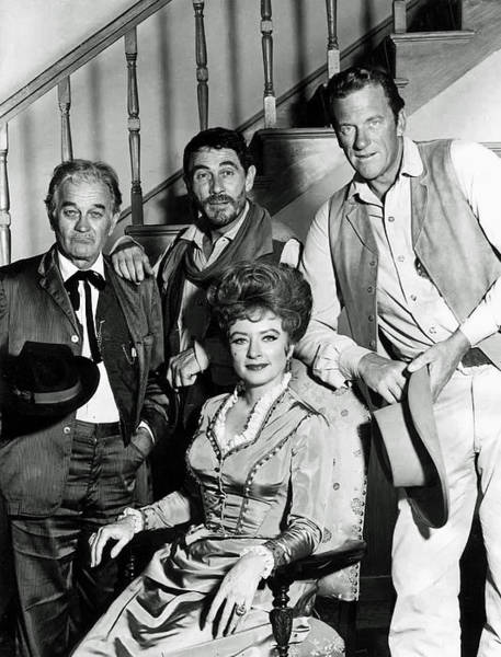 Well-known Photograph - Cast Of Gunsmoke by Mountain Dreams