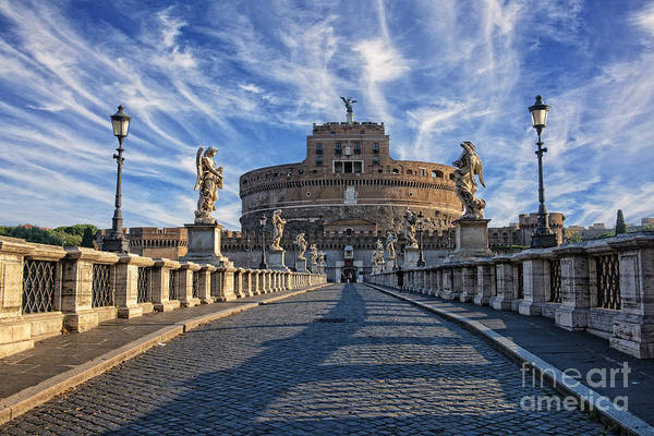 Pyrography - Castel Sant Angelo by Mauro Celotti