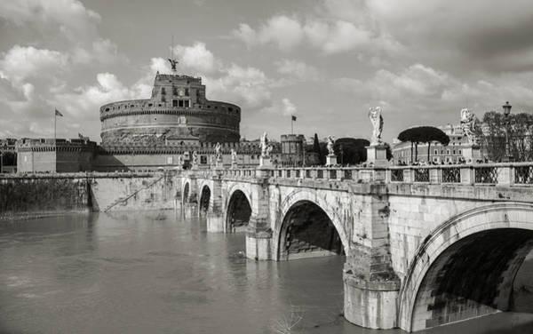 Photograph - Castel Sant'angelo by Brian Grzelewski