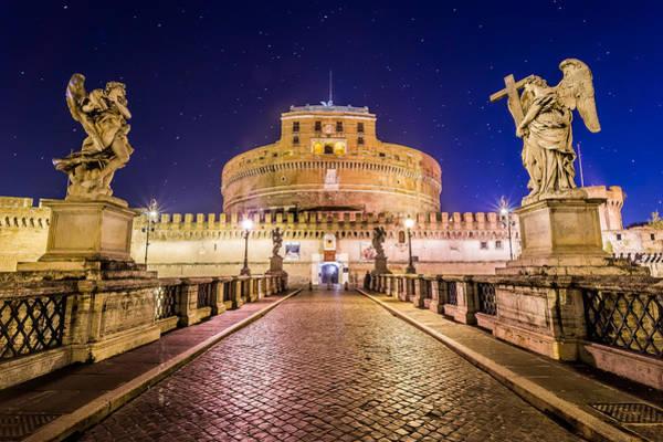 Konica Wall Art - Photograph - Castel Sant'angelo Roma Italia by Giuseppe Milo