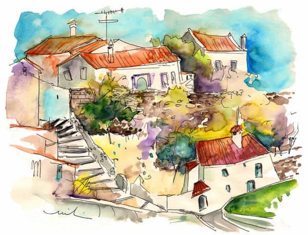 Painting - Castelo De Vide 06 by Miki De Goodaboom