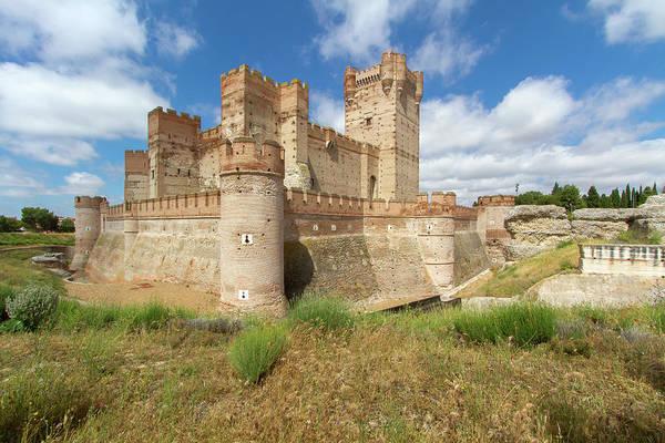 Wall Art - Photograph - Castillo De La Mota by Hitesh Sawlani