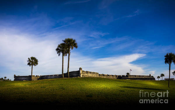 St Augustine Photograph - Castillo De San Marcos by Marvin Spates